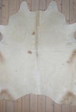Van Buren Koeienhuid - Champagne - ca. 220x220 cm