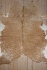 Van Buren Koeienhuid - Beige - ca. 200x220 cm