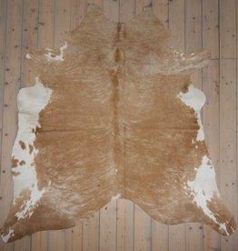 Van Buren Koeienhuid - Beige - ca. 220x220 cm