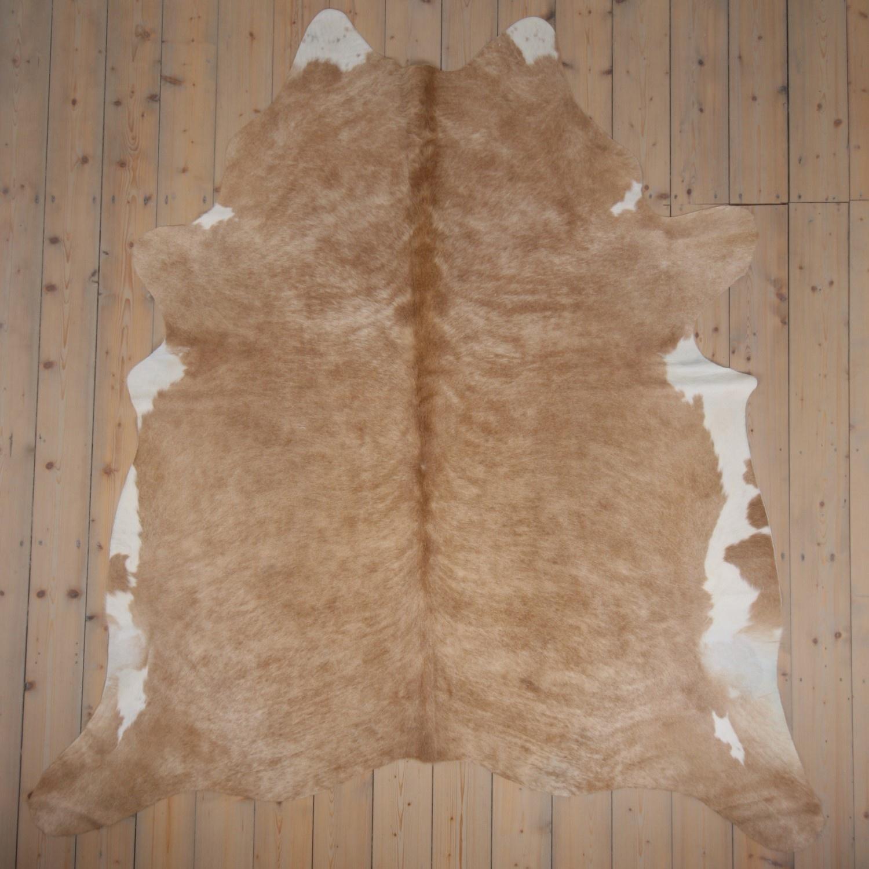 Van Buren Koeienhuid - Beige - ca. 230x220 cm