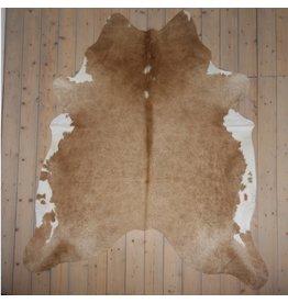 Van Buren Koeienhuid - Beige - ca. 240x210 cm