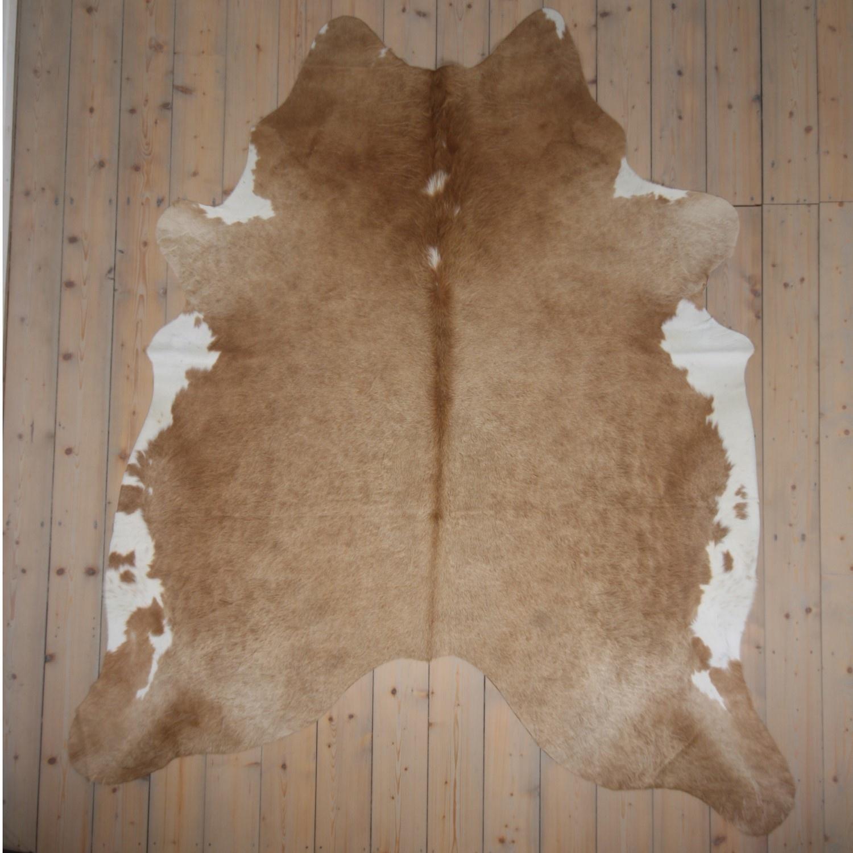 testVan Buren Koeienhuid - Beige - 200x200 cm