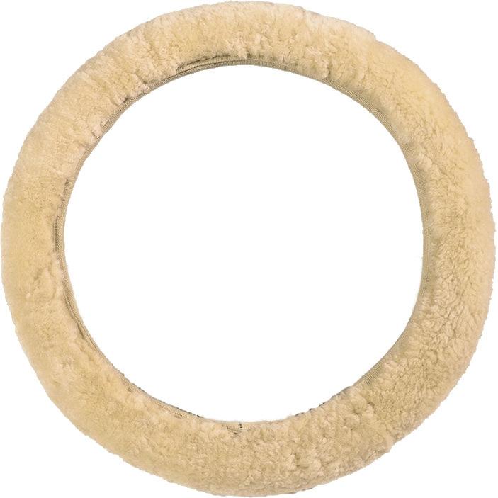 testVan Buren Stuurhoes voor in de auto van schapenvacht (wol)