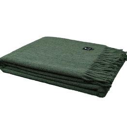 Van Buren Alpaca plaid - Donker groen