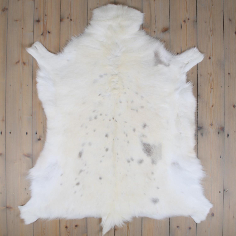 Van Buren Rendierhuid Uniek - 120x100 cm  - Wit