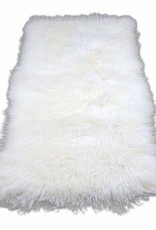 Van Buren Tibetaans schapenvacht plaat - 120x60 cm