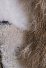 Van Buren Schapenvacht vloerkleed - Melange vloerkleed 200x150 cm