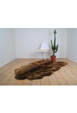 Van Buren Schapenvacht vloerkleed XXXL - Bruin | 180 x 150 cm