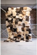 Van Buren Schapenvacht vloerkleed - Krulvacht vloerkleed | 220x150 cm