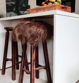 Van Buren Chair pad van IJslands schapenvacht