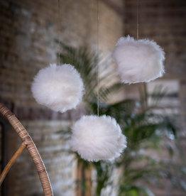 Van Buren Sneeuwballen van schapenvacht