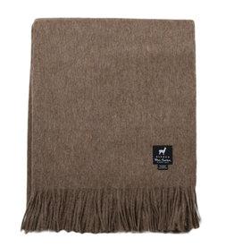 Van Buren Alpaca Wollen Plaid | Chocolade | 200x150cm