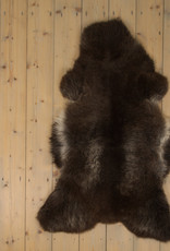 Van Buren Blauwe Texelaar Schapenvacht - Bruin - Uniek Gefotografeerd - ca. 120x70cm - US052