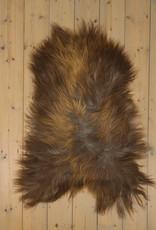 Van Buren IJslands Schapenvacht - Roestbruin - Uniek Gefotografeerd - ca. 100x65cm - US040