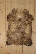 Van Buren Krul Schapenvacht - Melange - Uniek Gefotografeerd - ca. 90x65cm - US034