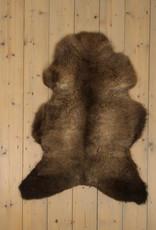 Van Buren Blauwe Texelaar Schapenvacht - Bruin - Uniek Gefotografeerd - ca. 100x70cm - US031
