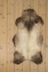 Van Buren Blauwe Texelaar Schapenvacht - Grijs - Uniek Gefotografeerd - ca. 100x60cm - US030