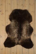 Van Buren Blauwe Texelaar Schapenvacht - Bruin - Uniek Gefotografeerd - ca. 95x75cm - US027
