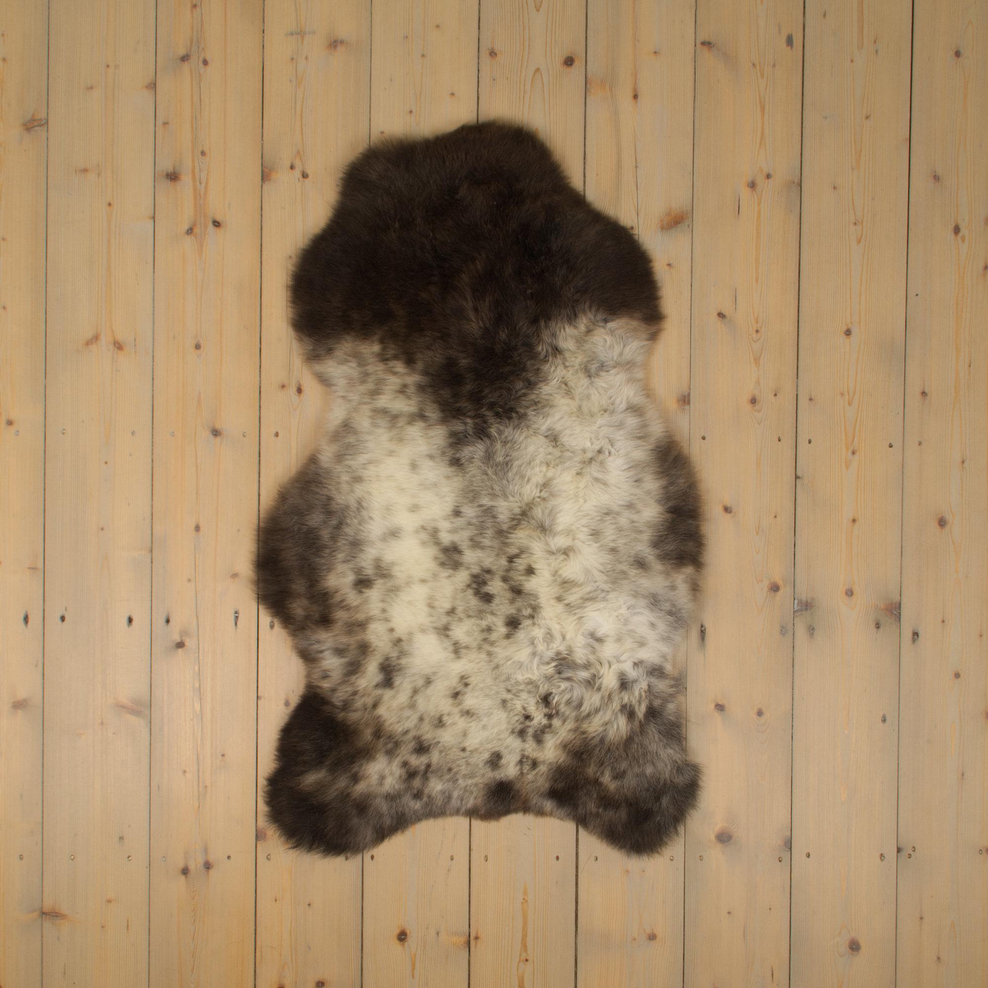 testVan Buren Texelse schapenvacht bont - uniek gefotografeerd - ca. 100x65cm - US024