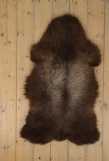 Van Buren Blauwe Texelaar Schapenvacht - Bruin - Uniek Gefotografeerd - ca. 110x65cm - US022