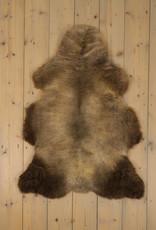 Van Buren Blauwe Texelaar Schapenvacht - Melange - Uniek Gefotografeerd - ca. 105x75cm - US014