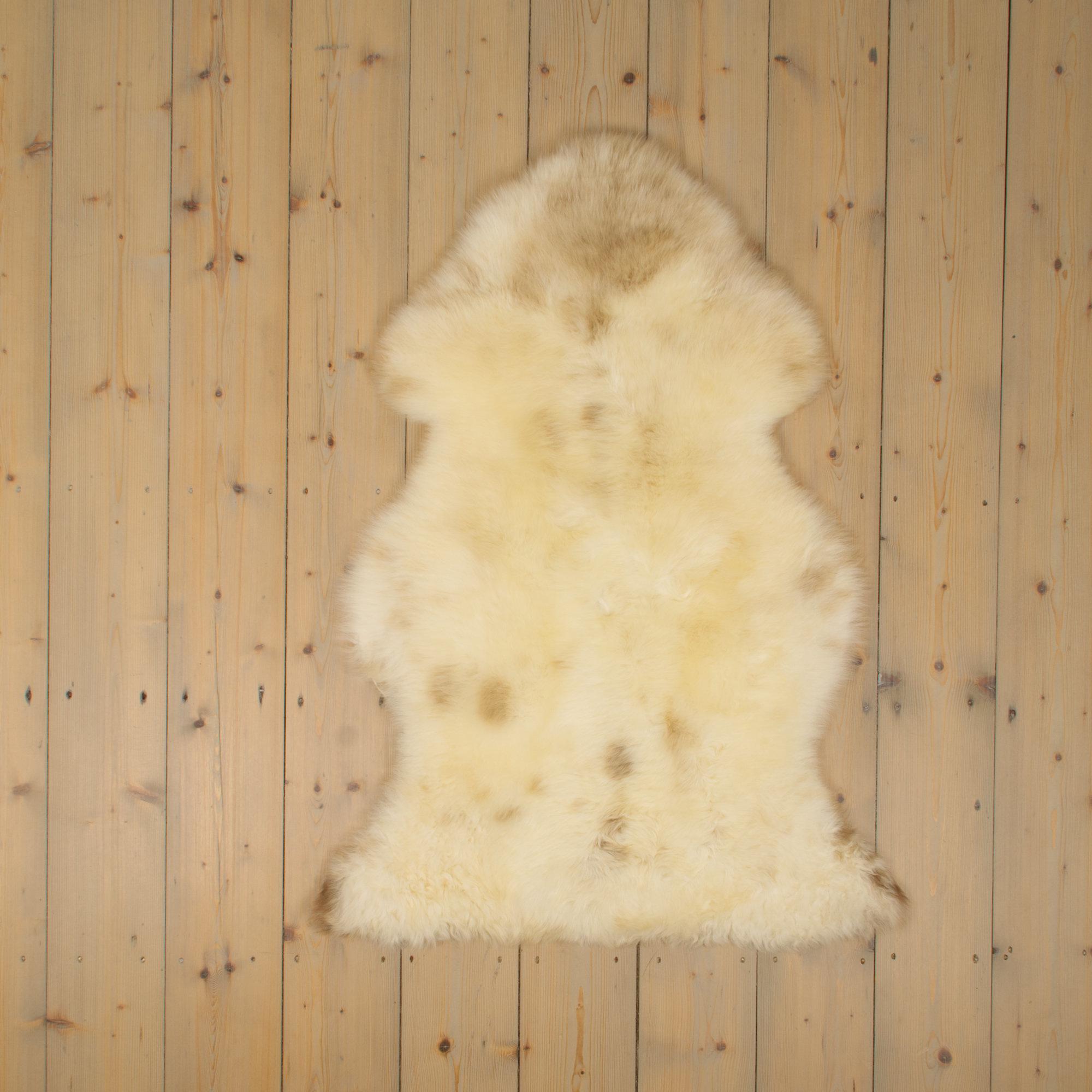 Van Buren Texels Schapenvacht - Melange - Uniek Gefotografeerd - ca. 110x70cm - US008