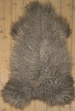 Van Buren Gotland Schapenvacht - Grijs - Uniek Gefotografeerd - ca. 125x80cm - US006