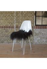 Van Buren Zwarte zitkussens van IJslands Schapenvacht