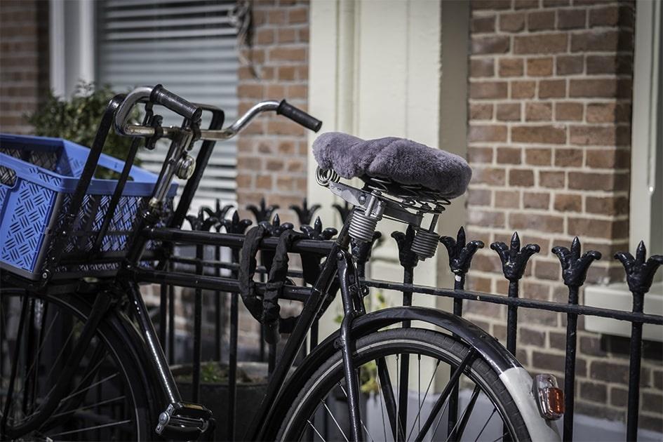 auto en fiets accessoires van schapenvacht
