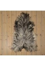 Van Buren Uniek Gefotografeerd Schapenvacht SV-031 - IJslands - Grijs - ca. 100x50 cm