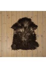 Van Buren Uniek Gefotografeerd Schapenvacht SV-019 - Krul - Melange - ca. 90x60 cm