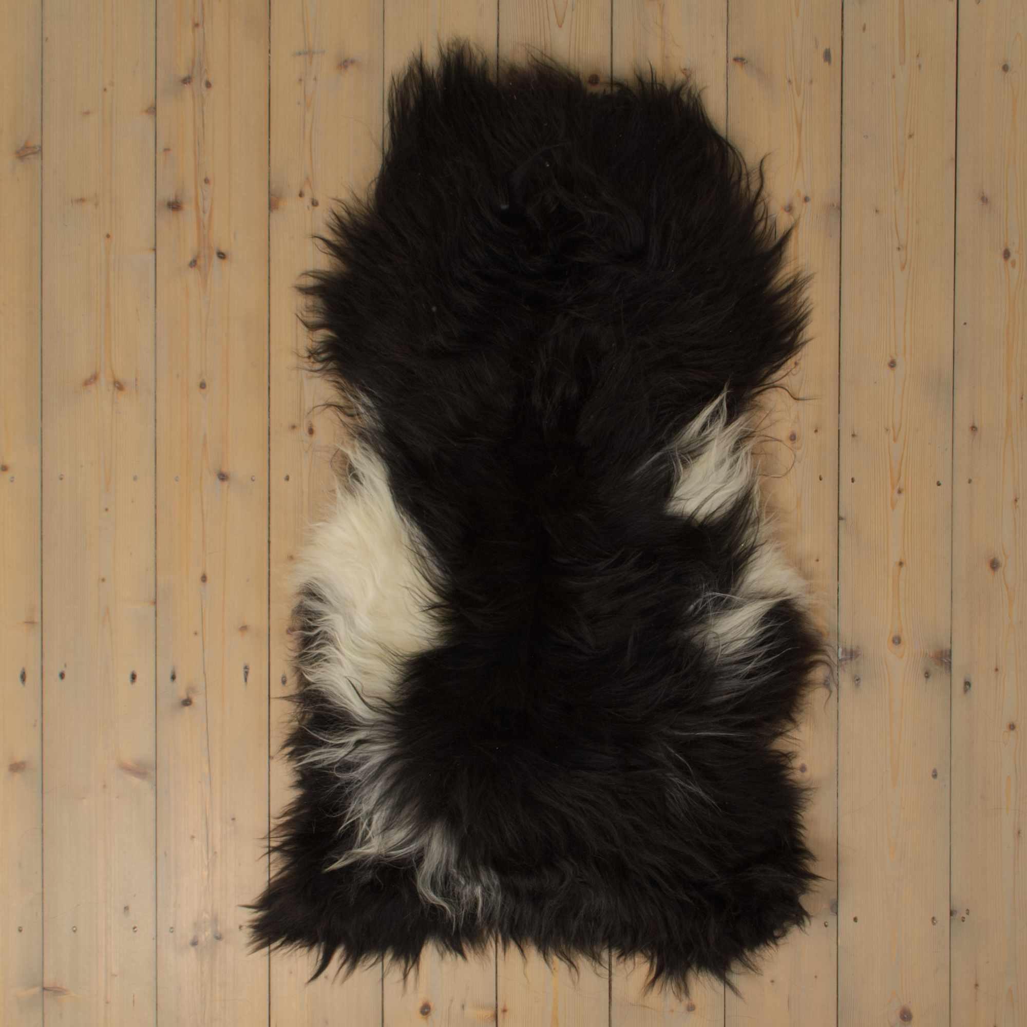 testVan Buren Uniek Gefotografeerd Schapenvacht SV-010 - IJslands - Bont - ca. 120x60 cm