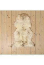 Van Buren Uniek Gefotografeerd Schapenvacht SV-003 - Melange - ca. 110x60 cm