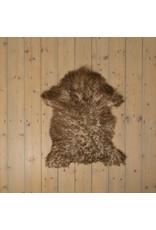 Van Buren Uniek Gefotografeerd Schapenvacht SV-014 - Krul - Melange - ca. 90x60 cm