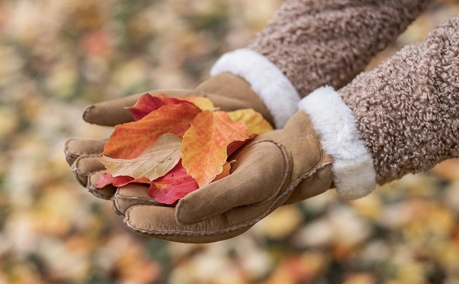 Schapenvacht handschoenen wanten
