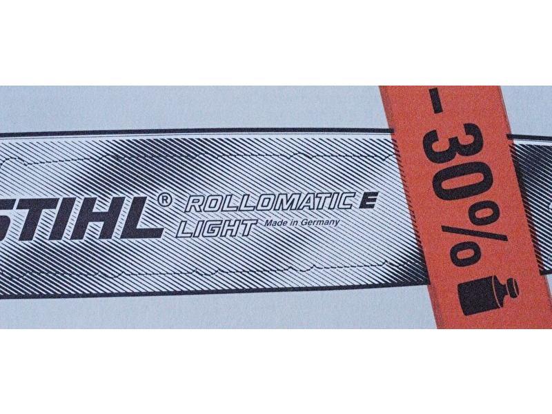 "Stihl Rollomatic E Light zaagblad | 1.3mm | 3/8"""