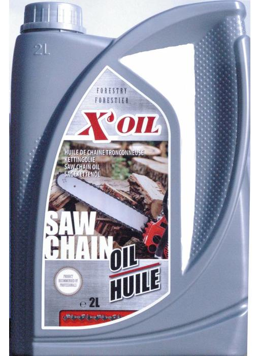 X'oil kettingzaag olie 2L