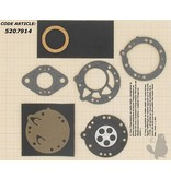 Membraanset voor Zama carburateur - vervangnummer GND30 - past op Stihl 070, 08, 090, TS350S