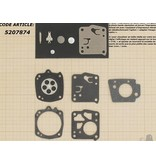 Membraanset voor Tillotson carburateur - vervangnummer RK-21HS - past op Stihl TS50, TS510, TS760, 041, 045, 051, 056, 076
