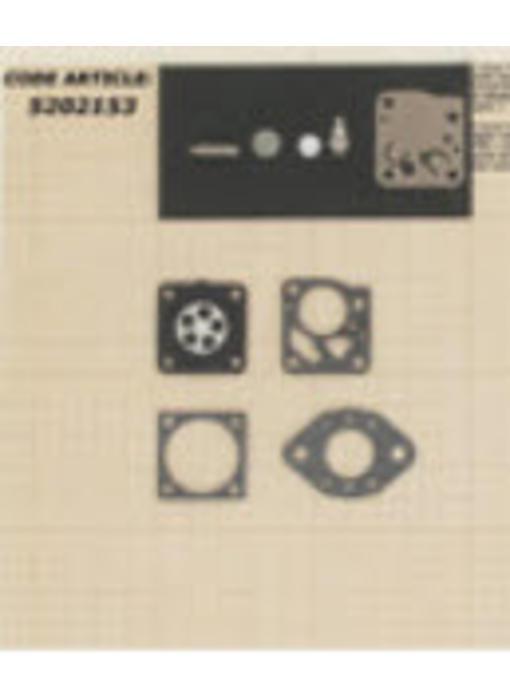 Membraanset voor Tillotson carburateur - vervangnummer RK-14HU - past op Stihl 028