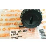 Stihl oliedop voor oudere Stihl modellen 009-088, MS290, MS310, MS390, MS640, MS650 en MS660