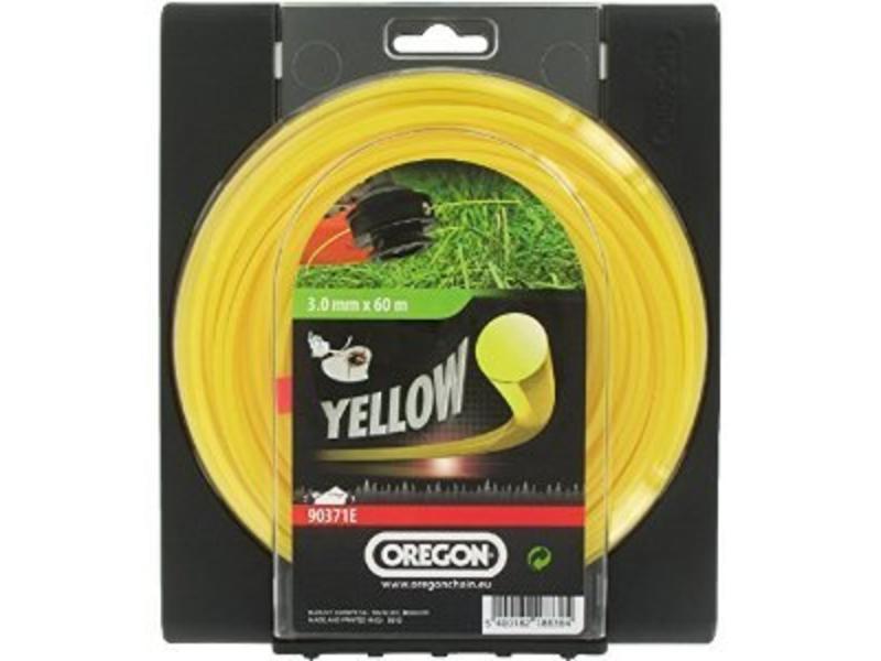 Oregon maaidraad Yellow Roundline op rol | 56, 70, 88, 169, 209, 264 en 380 meter rollen