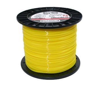 Oregon maaidraad Yellow Roundline op rol | 60, 70, 90, 130, 140, 180, 240, 260, 280, 360 en 520 meter rollen
