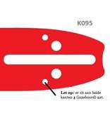 Husqvarna zaagblad | 1.3mm | .325 | K095 aansluiting