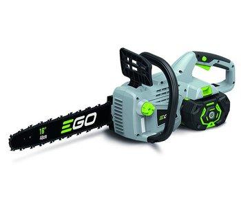 EGO CS1401 accu kettingzaag + 2 extra kettingen & 2 liter kettingzaagolie