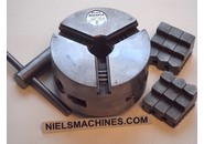 Sold: Schaublin 102 Griptru ø102mm Scroll 3-Jaw Precision Chuck