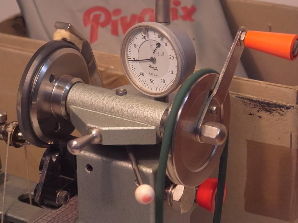 Sold: Pivofix Jacot Tool Watchmakers Lathe - Niels Machines