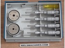 Sold: Tesa 00813409 Imicro Internal Micrometer Set 3.5-6.5mm 0.001mm