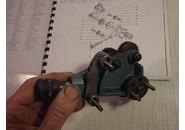 Emco Maximat V10-PParts: Gear train holder andPositioning bracket