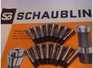 Schaublin B8 watchmaker ø8mm collets 0.5-8mm